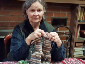 Knitting two socks on one circular needle