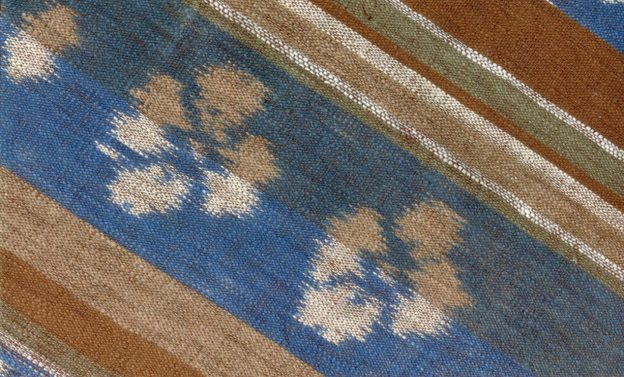 ikat designed and woven by Phyllis Karsten