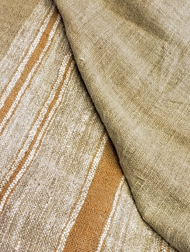 fabric woven from natural colored cotton